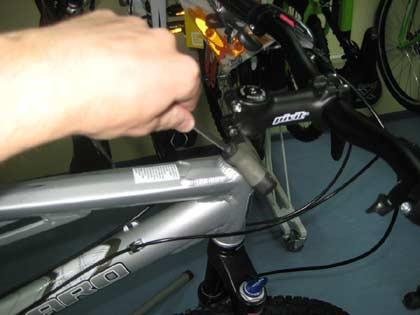 регулировка выноса велосипеда