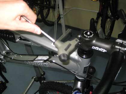 Вынос велосипеда